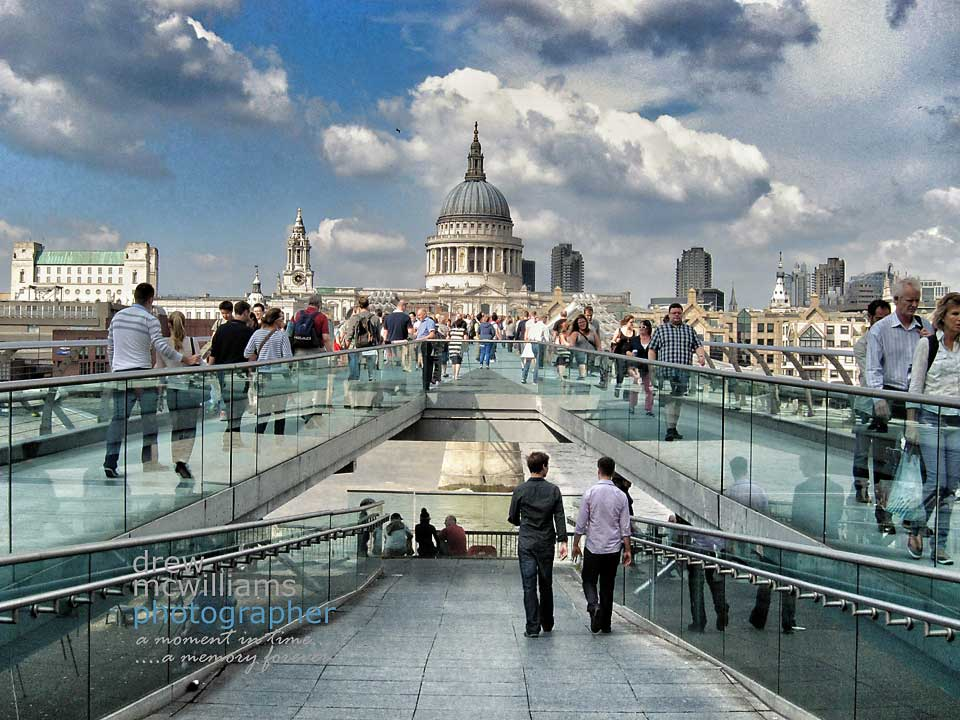 St Paul's Cathedral from the South Bank, London