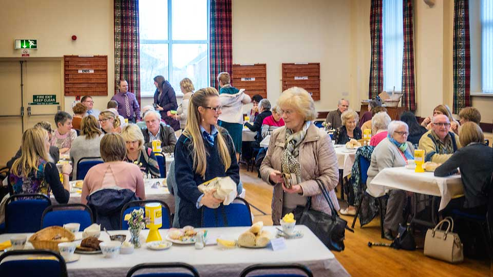 Annual fund raising brunch at Dromore Non-Subscribing Presbyterian Church Hall in aid of the Friends of the Cancer Centre, Belfast City Hospital
