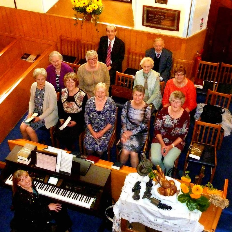 Harvest Service Choir at Dromore Non-Subscribing Presbyterian Church