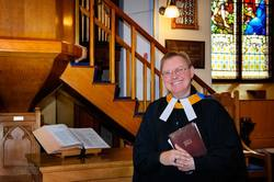 The Moderator of the Non-Subscribing Presbyterian Church in Ireland, the Rev Chris Wilson