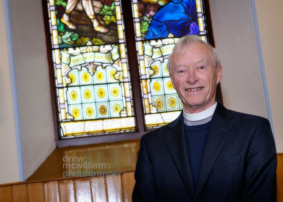 Rev Dr Will Patterson at Dromore Non-Subscribing Presbyterian Church
