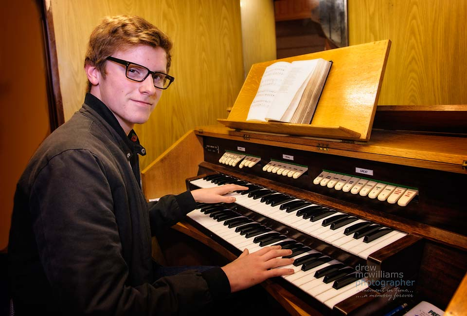 One of the youngest church organists in Ireland