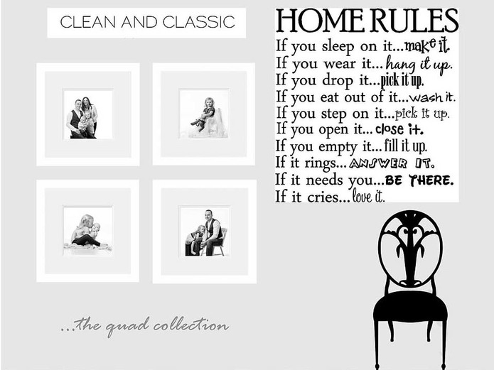 Mother's rules of the home