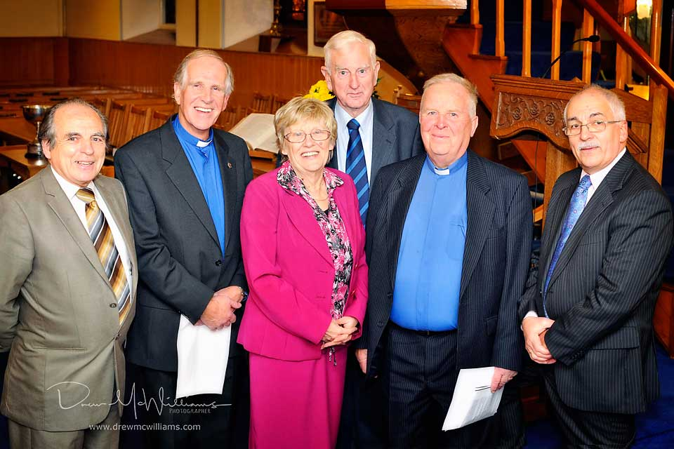 Guests at the Bowlers Service at Dromore Non-Subscribing Presbyterian Church