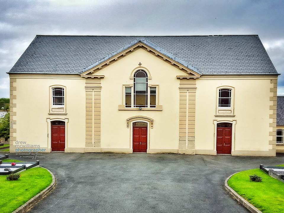 Front elevation of Dromore Non-Subscribing Presbyterian Church