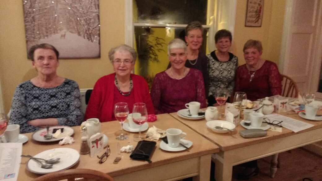 Women's League Christmas Dinner at the Riverside Tearooms, Dromore