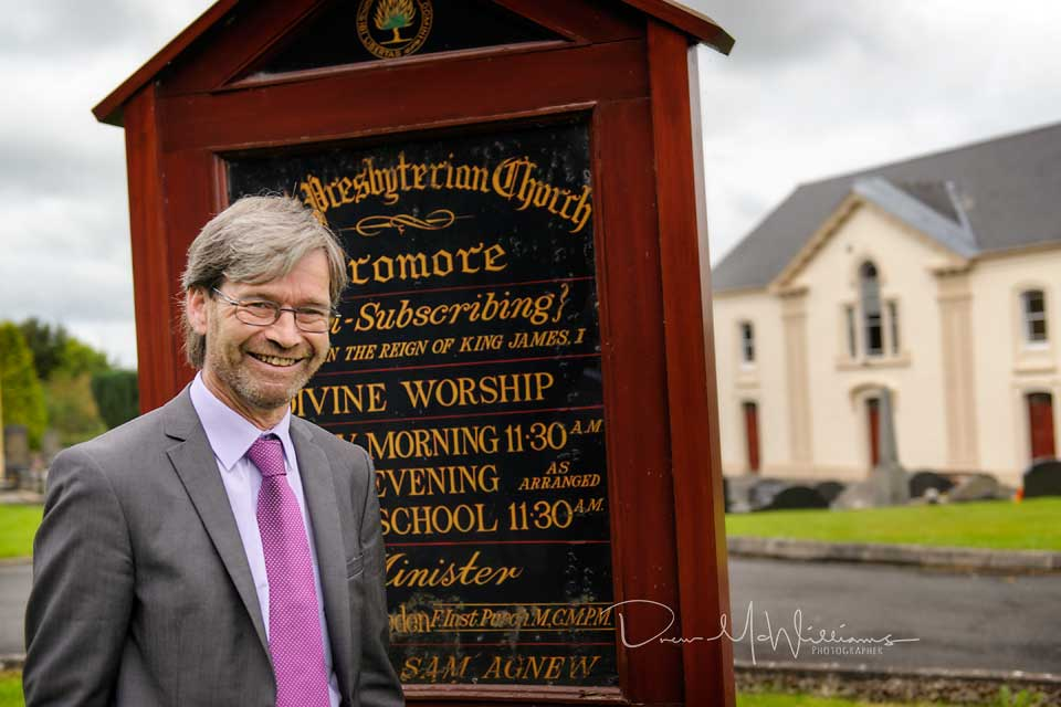 Mike O'Sullivan at Dromore Non-Subscribing Presbyterian Church