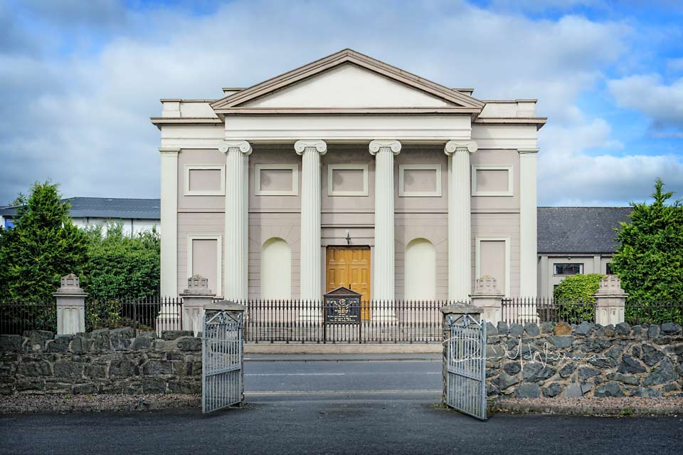 Non-Subscribing Presbyterian Church, Banbridge (photo (C) Drew McWilliams 2016)