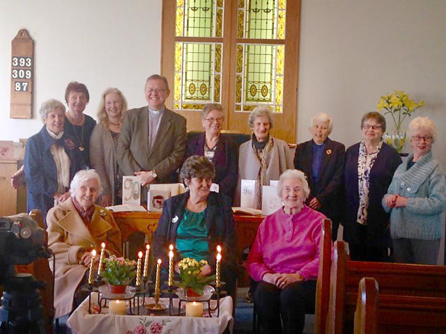 Quarterly meeting of the Women's League of the Non-Subscribing Presbyterian Church of Ireland