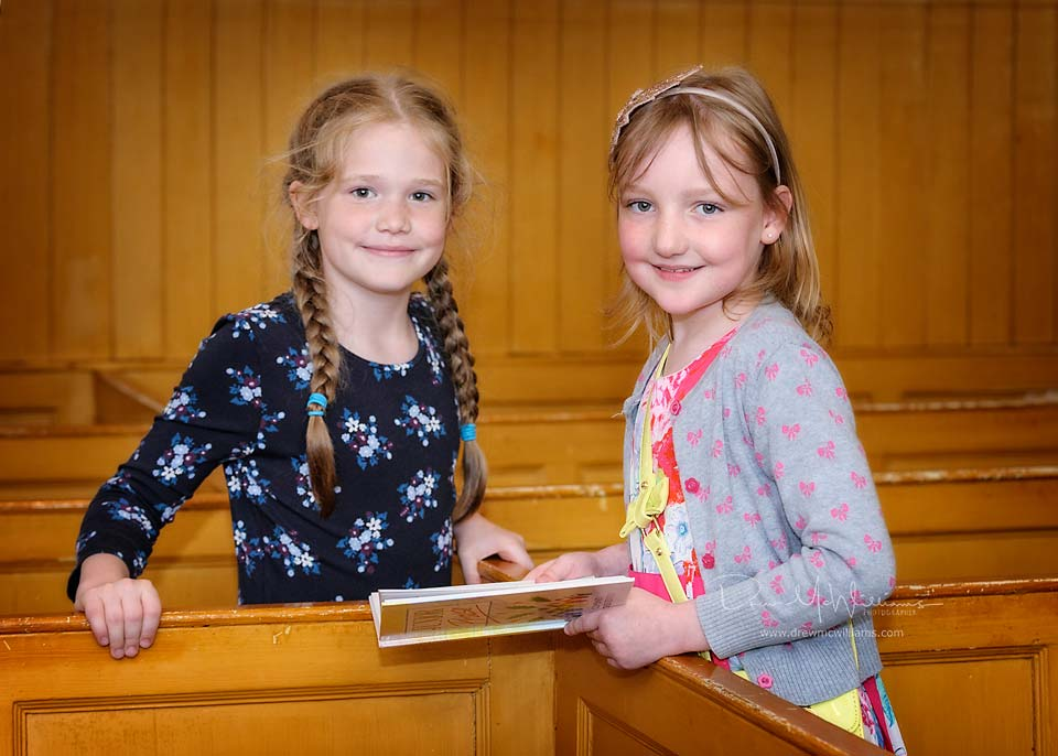 Sunday School children at Dromore Non-Subscribing Presbyterian Church