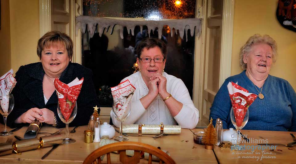 Christmas Dinner at the Riverside Tearooms, Dromore